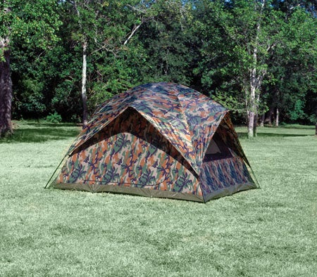 Texsport - Headquarters Camouflage Square Dome Tent - 13