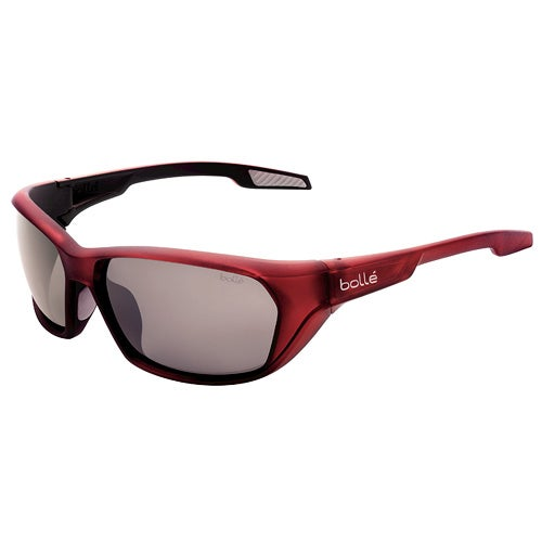 Aravis Matte Red Polarized TNS Gunmetal oleo AF Sunglasses