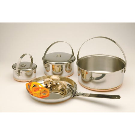 Family Stainless Steel Cook Set