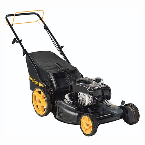 """22"""" 150cc 3-in-1 Front Wheel Drive Self Propelled Push Mower"""