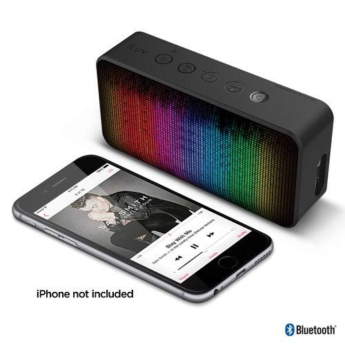Aud Mini 6 Party Bluetooh Speaker w/ Pulsed LED Light