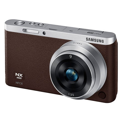 NX Mini Smart Camera with 9mm Lens, Brown