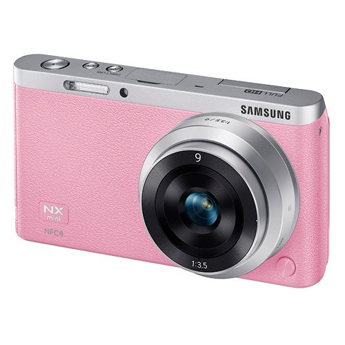 NX Mini Smart Camera with 9mm Lens, Pink