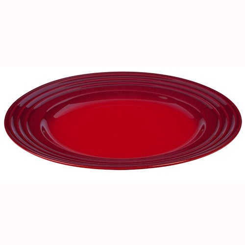 Set of 4 Dinner Plates, Cherry