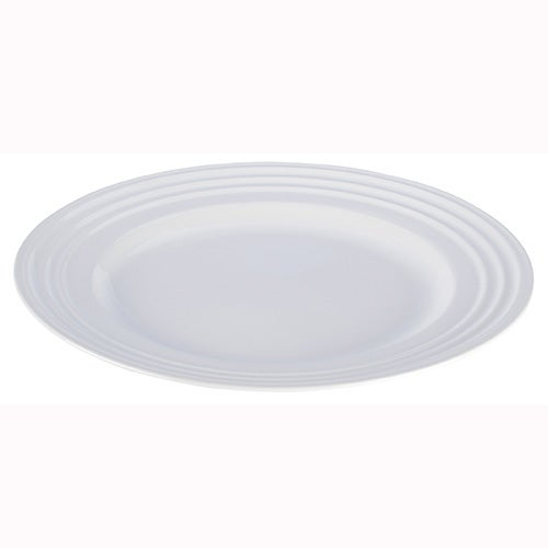 Set of 4 Dinner Plates, White