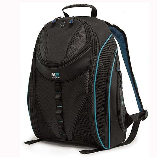 """Express 16""""Laptop Backpack 2.0, Black/Teal"""