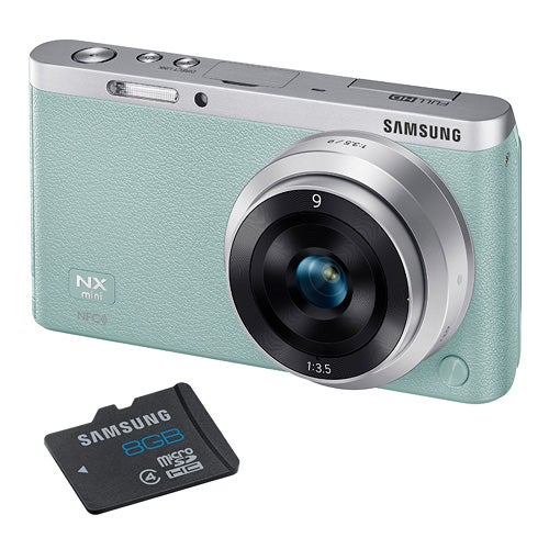 NX Mini Mint 20MP w/ Interchangeable Lens and 8GB SD Card