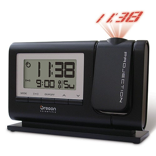 Atomic Dual Alarm Projection Clock