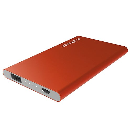 Razor Plus 3000mAh Rechargeable Power Bank, Red