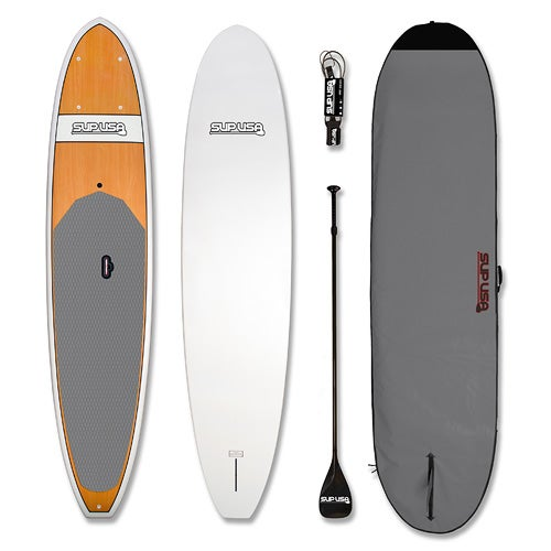 Bamboo 12-ft. Stand Up Paddle Board Kit