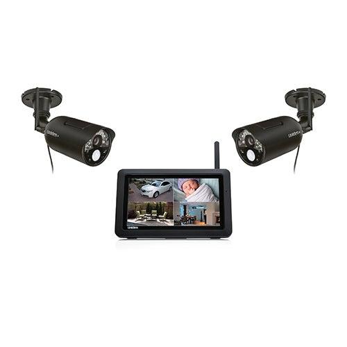 Wireless Surveillance System w/ 2 Outdoor Cameras