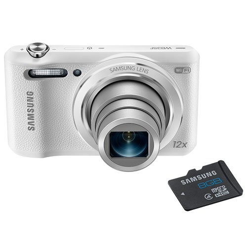 WB35F White Smart WiFi Camera with 8GB Micro SD