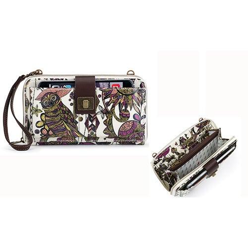 Large Smartphone Crossbody, Ivory Spirit Desert