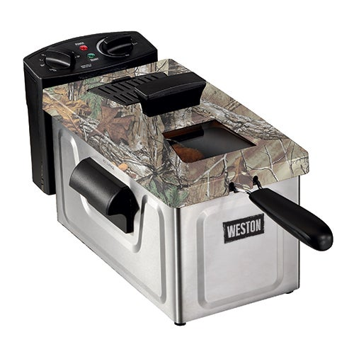 Realtree Outfitters 8-Cup Camo Deep Fryer
