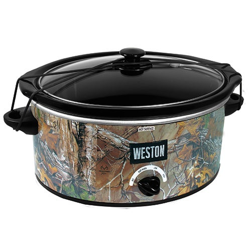 Realtree Outfitters 5 Qt Camo Slow Cooker