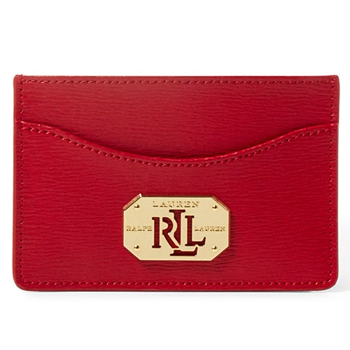 Newbury Leather Card Case, Red