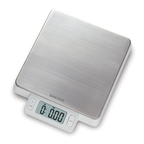 11lb Digital Kitchen Scale, Stainless Steel