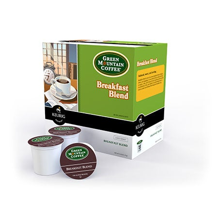 Green Mountain Breakfast Blend 18-Count K-Cup