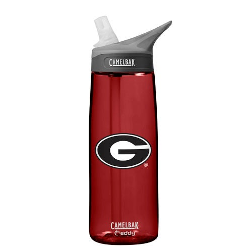 NCAA Georgia Bulldogs 0.75L Eddy Water Bottle