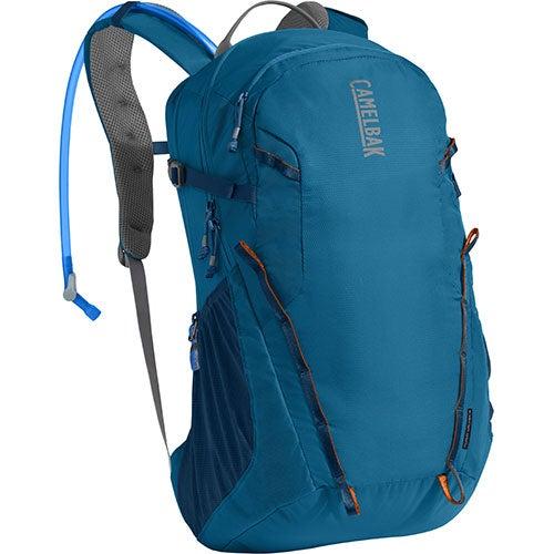 Cloud Walker 18 Hydration Pack, Hike - Grecian Blue/Pumpkin