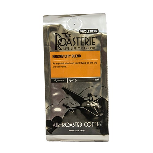 Kansas City Blend Coffee, 12oz, Whole Bean