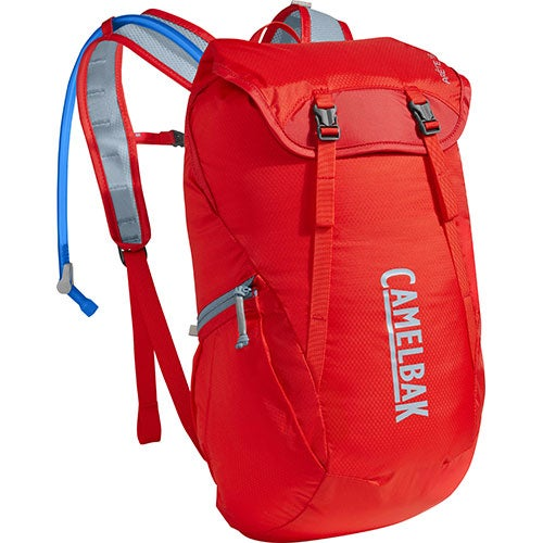 Arete 18 Hydration Pack, Hike - Fiery Red/Stone Blue