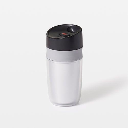Good Grips Single Serve 10oz Travel Mug, Silver