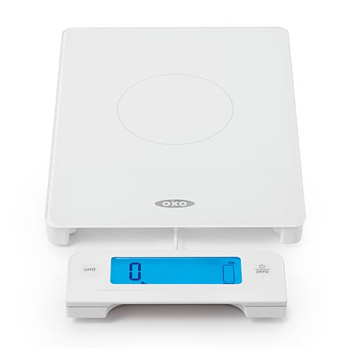 11lb Glass Digital Food Scale w/ Pull Out Display