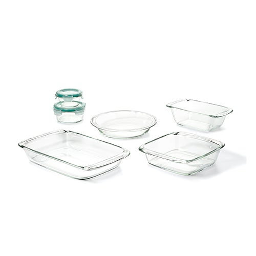 Good Grips 8-Piece Glass Bake Serve & Store Set