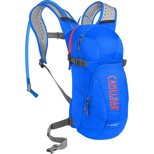 Magic Womens Hydration Pack, Cycling - Carve Blue/Fiery Coral