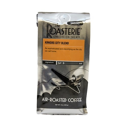Kansas City Blend Coffee, 12oz, Ground Beans