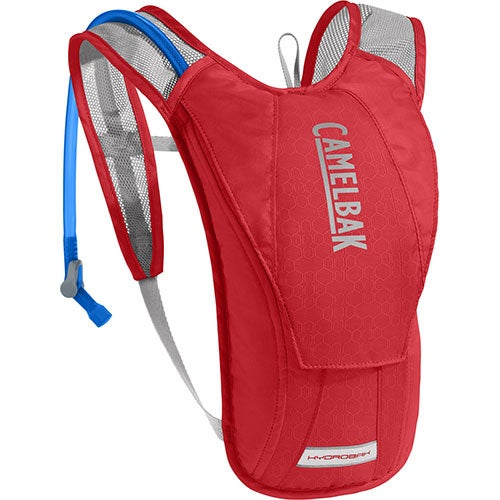 Hydrobak Hydration Pack, Cycling - Racing Red/Silver