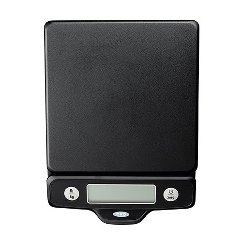 Good Grips 5lb Food Scale w/ Pull Out Display, Black