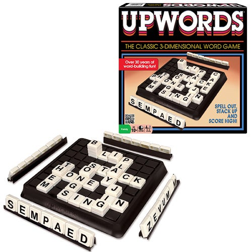 Upwords Classic Board Game