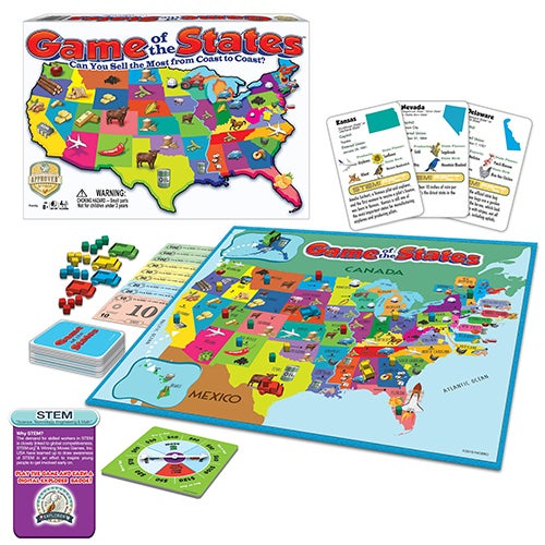 Game Of The States, Ages 8+ Years