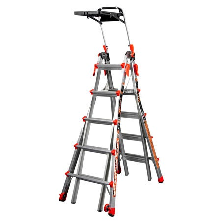 Little Giant Alta One 22 Foot Ladder with Work Platform (lb. Weight Rating, Type 1 ) by Little Giant Ladder Systems $ $ 66 Prime ( days).