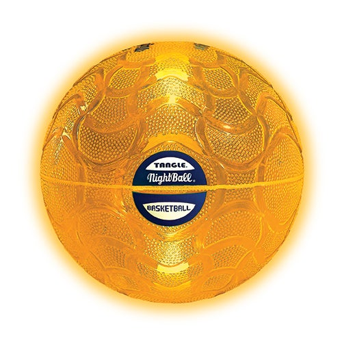 Tangle NightBall Basketball, Orange