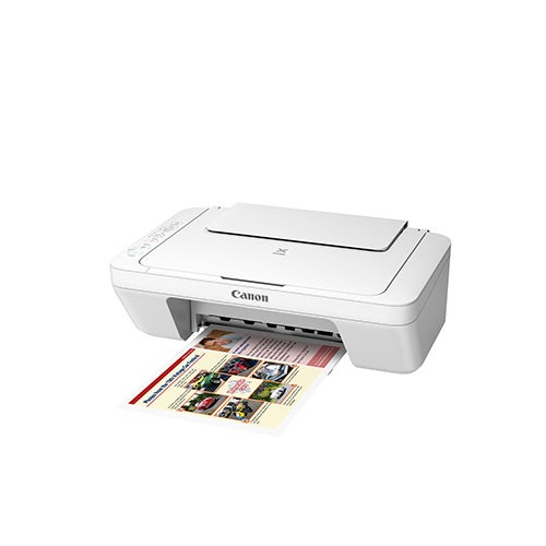 Pixma MG3020 Wireless Photo All-in-One Inkjet, White
