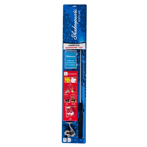 Complete Microspin Kit, 2-Piece 4ft 6in Rod
