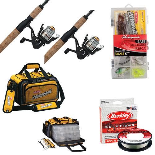 54ec4133b4d8 Fishing Duo Package - 2 Rod Reel Combos
