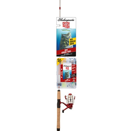 Catch More Fish Bass Spinning Combo