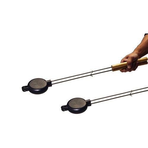 Set of 2 Pre-Seasoned Cast Iron Round Pie Cooker