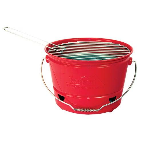 EZ BBQ Bucket, Red