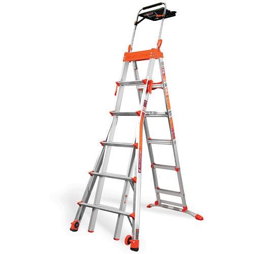Select Step 6-10 Ft. Aluminum Adjustable Stepladder