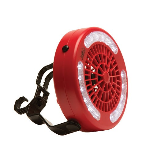 Mini Camping Fan and LED Light