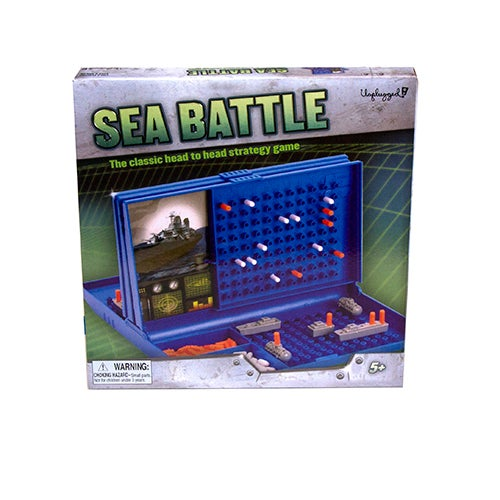 Sea Battle Game, Ages 6+ Years