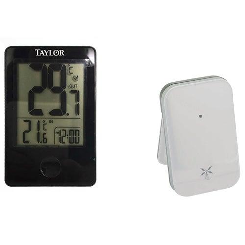 Digital Indoor/Outdoor Thermometer w/ Wireless Sensor