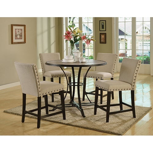 5-Piece Pub Height Dining Set