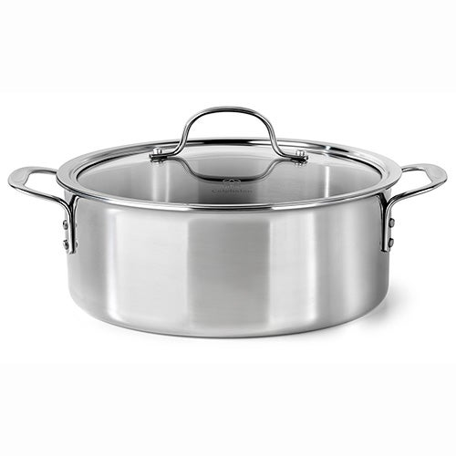 Tri-Ply Stainless Steel 5 Qt Dutch Oven
