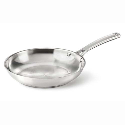 """Classic Stainless Steel 12"""" Omelet Pan"""